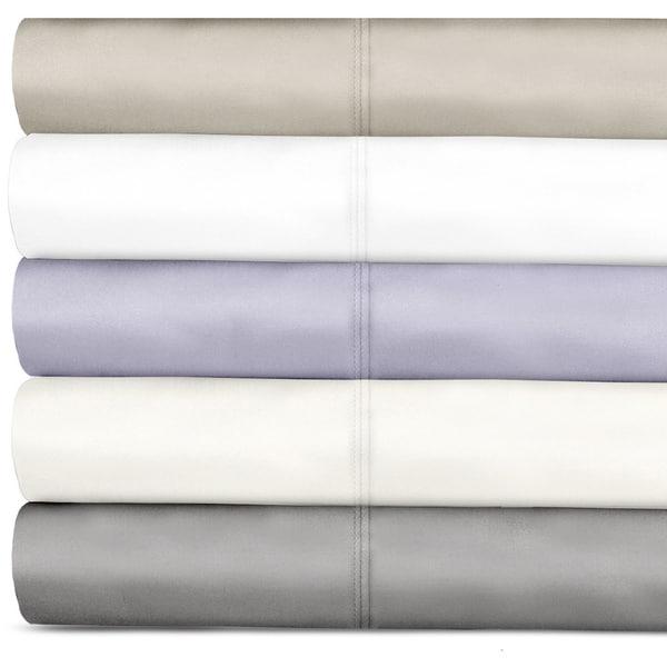 Grand Luxe 600 Thread Count Tencel Deep Pocket Sheet Set and Pillowcase Separates