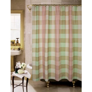 Avondale Plaid Cotton Shower Curtain