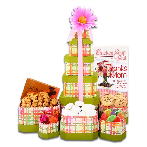 Alder Creek Gift Baskets Chicken Soup for the Soul: Mother's Day Tower of Treats