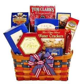 Alder Creek Patriotic Treats Gift Basket