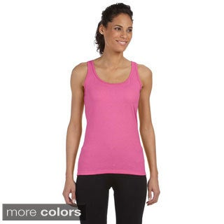Gildan Juniors 'Softstyle' Fitted Tank