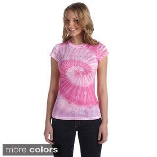 Juniors Spun Polyester Moisture Management T-shirt