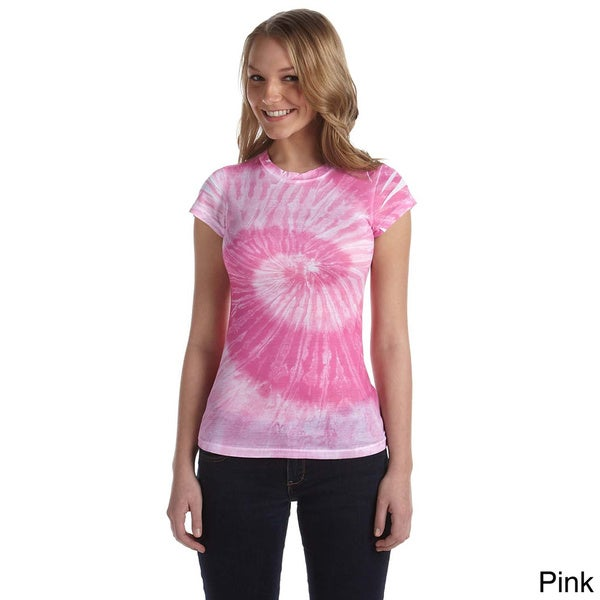 Juniors Spun Polyester Moisture Management T-shirt
