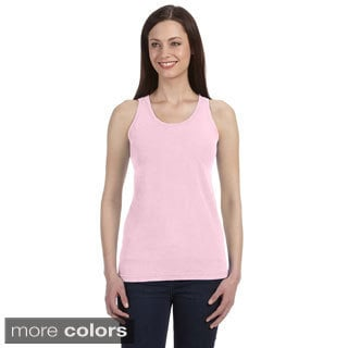 Women's Ringspun Cotton Garment-dyed Tank