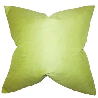 Baldwin Solid Down Filled Throw Pillow Wasabi