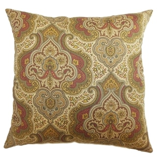 Danielle Paisley Down Filled Throw Pillow Spice