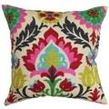 Tahsis Floral Down Fill Throw Pillow Multi