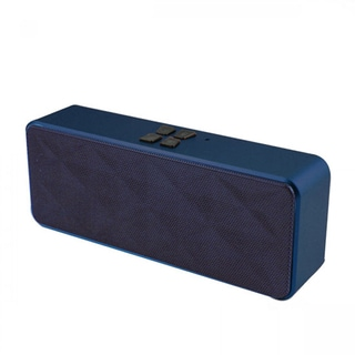 Impecca Portable Bluetooth Hi-Fi Stereo Speaker with Built-in Microphone and Speakerphone & AUX Input