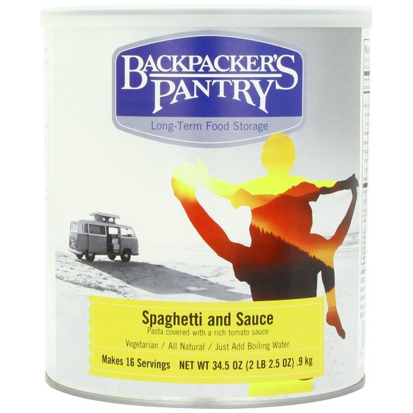 Backpacker's Pantry Can Spaghetti and Sauce