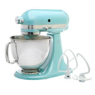 KitchenAid RRK150AZ Azure Blue 5-quart Artisan Tilt-Head Stand Mixer (Refurbished)