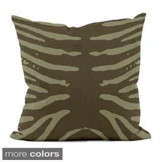 20x 20-inch Animal Stripe Decorative Throw Pillow
