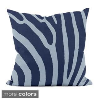 20 x 20-inch Animal-print Striped Decorative Throw Pillow