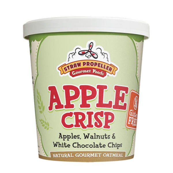Straw Propeller Apple Crisp Oatmeal 12931849