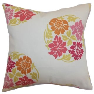 Ihosy Floral Down Filled Throw Pillow Blossom