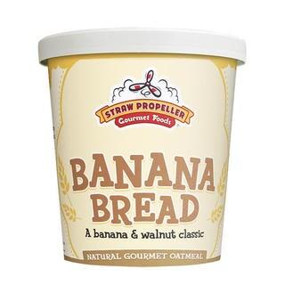 Straw Propeller Banana Bread Oatmeal (Case of 12)