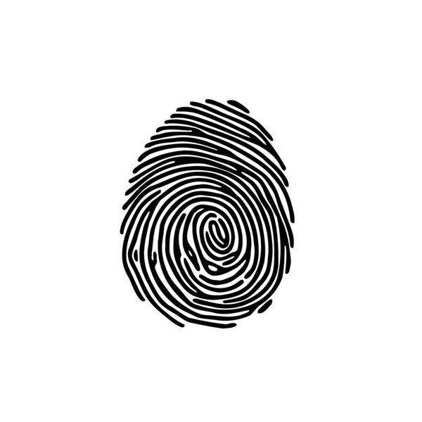 Fingerprint Vinyl Wall Art
