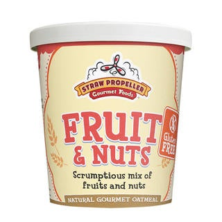 Straw Propeller Fruit & Nuts (Case of 12)