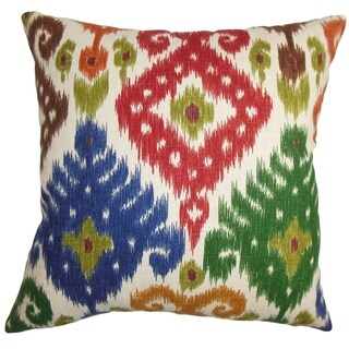 Kaula Ikat Multi Down Filled Throw Pillow