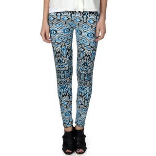 Hailey Jeans Co. Junior's Soft Patterned Leggings