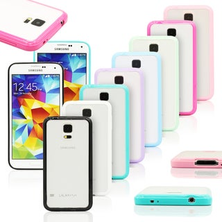 Gearonic TPU bumper and Matte PC Back Case for Samsung Galaxy S5 i9600