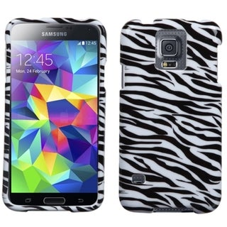INSTEN Zebra Skin Phone Protector Phone Case Cover for Samsung Galaxy S5 SV