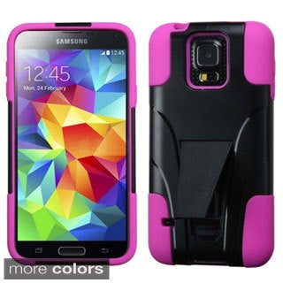 INSTEN Inverse Advanced Armor with Stand Protector Phone Case Cover for Samsung Galaxy S5/ SV
