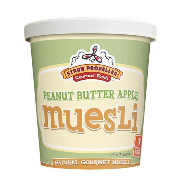 Straw Propeller Peanut Butter Apple Muesli 12933786