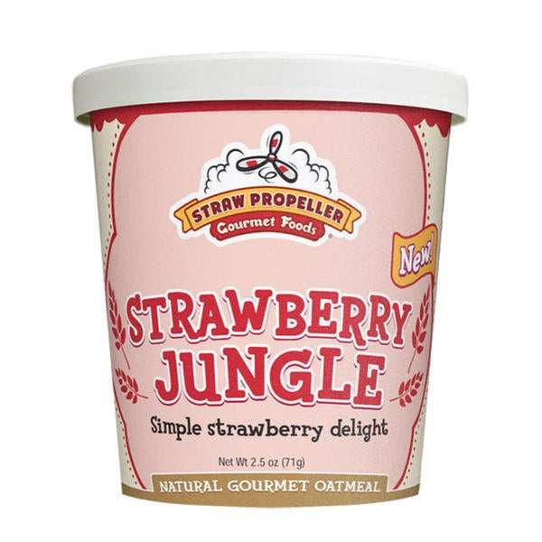 Straw Propeller Strawberry Jungle Oatmeal (Case of 12)