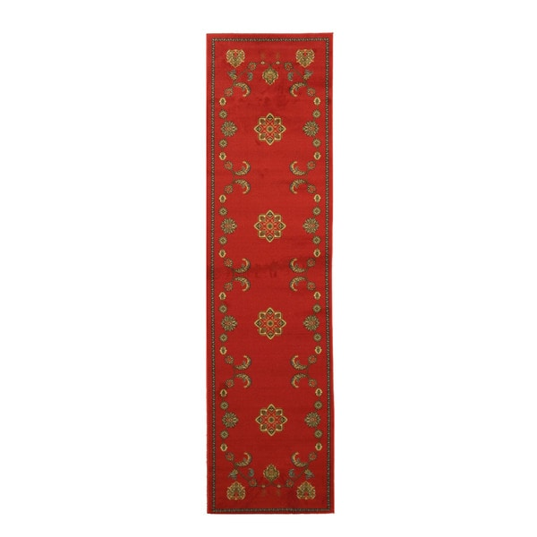 Red Arabella Rug (2'7 x 9'10)