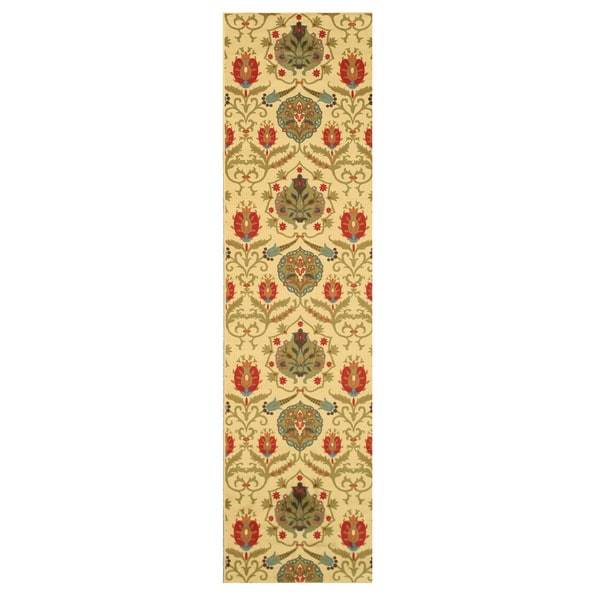 Ivory Fiji Rug (2'7 x 9'10)