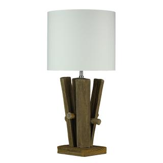 Cortesi Home Split Log Table Lamp