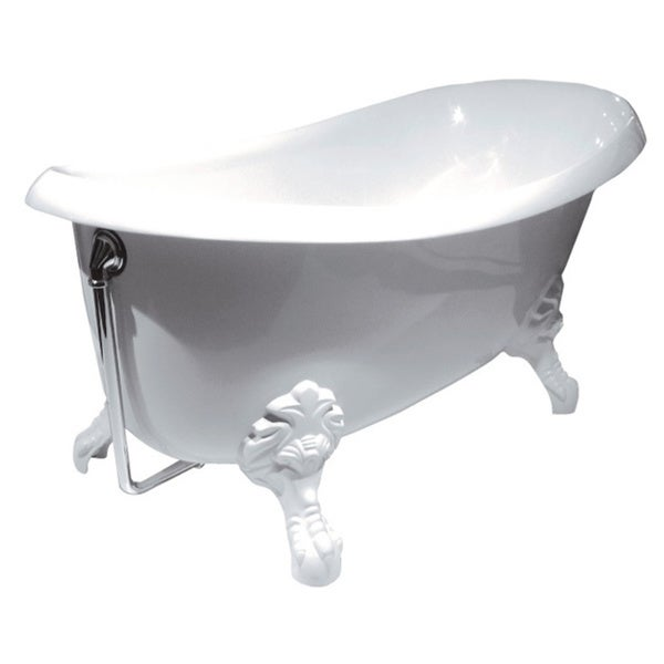 Aquatica Nostalgia White Satin Freestanding EcoMarmor Bathtub