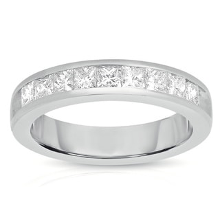 14k White Gold 3/4ct TDW Diamond Band (G-H, I1-I2)