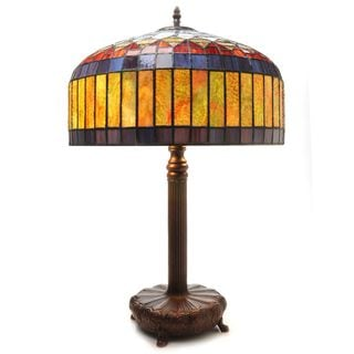 Warehouse of Tiffany Geodesic Dome Table Lamp
