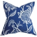 Fenella Blue and White Floral Pillow