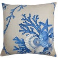 Maj Coastal Down Filled Throw Pillow Natural Blue