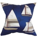 Hemavan Nautical Down Filled Throw Pillow Regatta