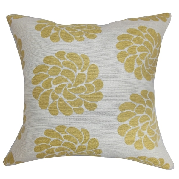 Ellisras Floral Down Fill Throw Pillow Summer
