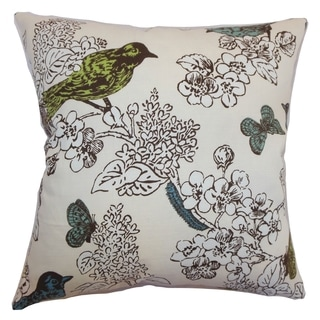 Ouvea Sea Grass Birds Pillow