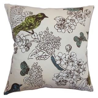Ouvea Sea Grass Birds Pillow