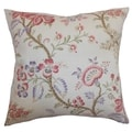 Quesnel Pastel Floral Down Filled Throw Pillow