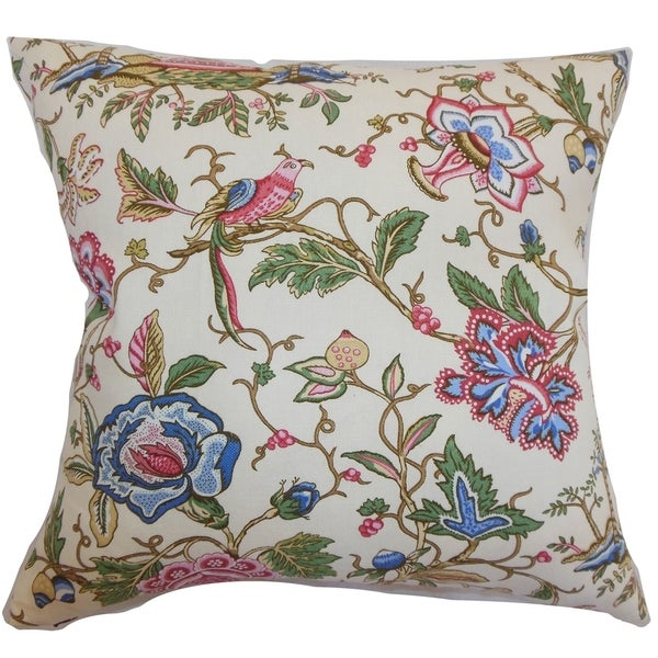 Rewa Multi Color Floral Pillow