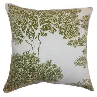 Juara Fern Tree Down Filled Throw Pillow