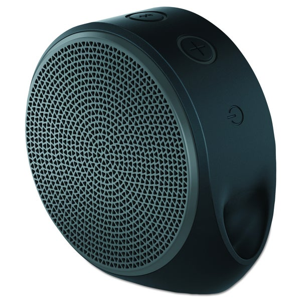 Logitech X100 Speaker System - Wireless Speaker(s) - Grey