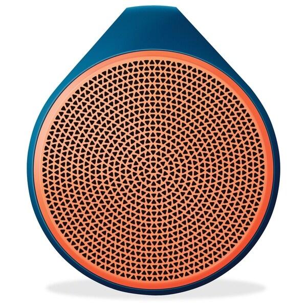 Logitech X100 Speaker System - Wireless Speaker(s) - Orange