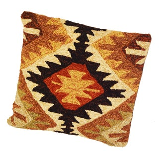 South Beach Black Tribal Indoor/ Outdoor Pillow