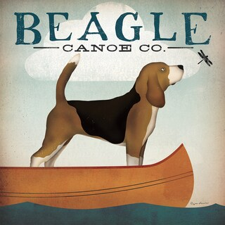 Gallery Wrapped Canvas Beagle Canoe Co. by Ryan Fowler