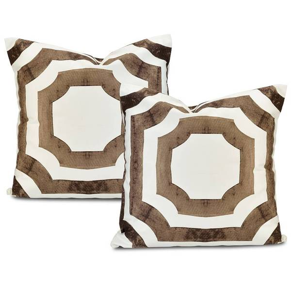 Mecca Printed Cotton Cushion Cover (Set of 2)