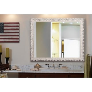 American Made Rayne French Victorian White Wall Mirror