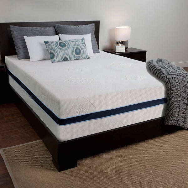 Sealy 14-inch King-size Memory Foam Mattress